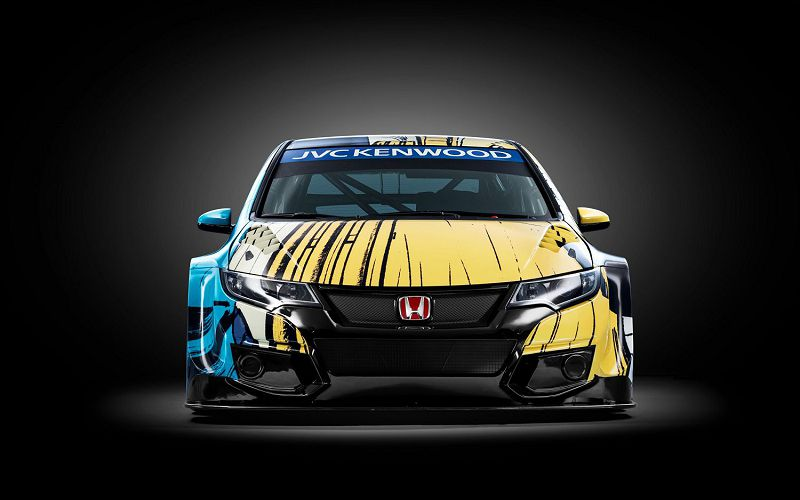 Honda Civic WTCC, Honda Civic, хонда сивик, Honda, хонда