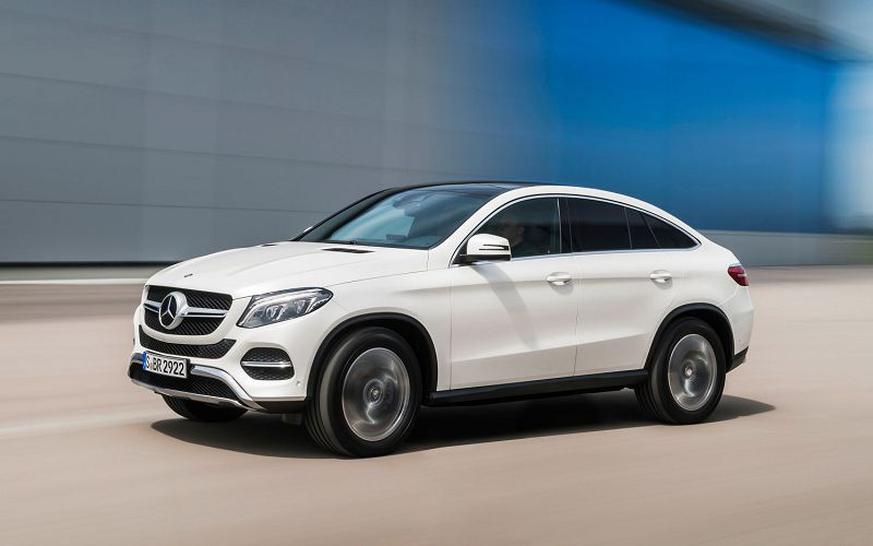 mercedes, Mercedes GLC Coupe 300, мерседес