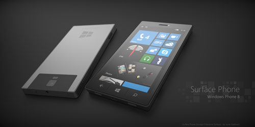 microsoft, surface, phone, concept, smartphone, hi-tech