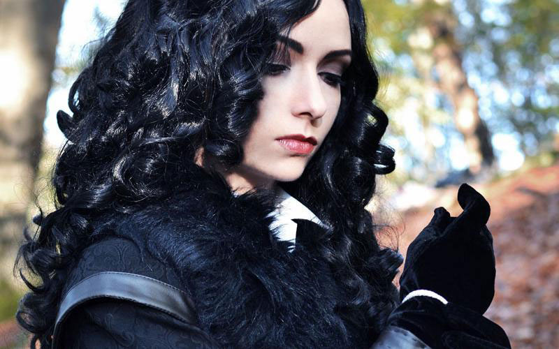 The Witcher 3, Yennefer, косплей