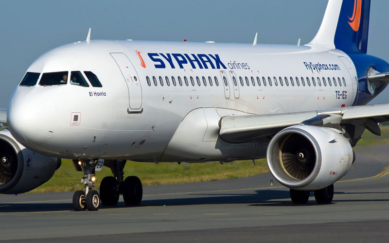 Airbus A319, Syphax Airlines, Airbus