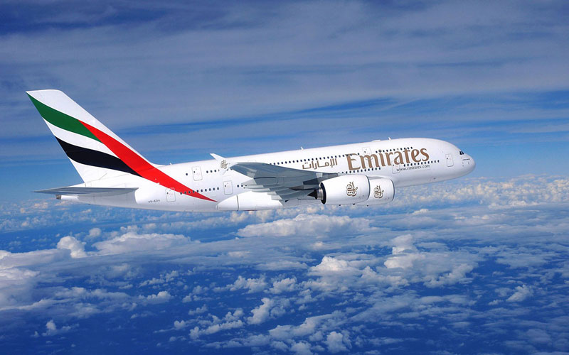 Emirates Airline, Airbus, A380, Airbus A380